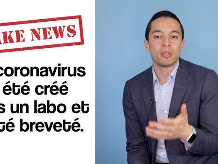 FAKE NEWS – Le coronavirus a été créé dans un labo