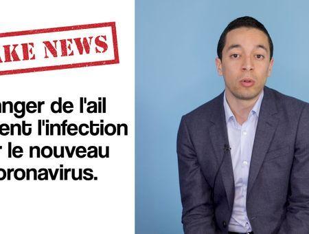 Fake news : Manger de l'ail prévient le covid-19