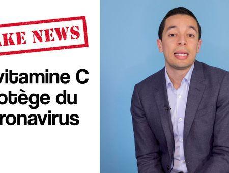 Fake news : La vitamine C protège du coronavirus