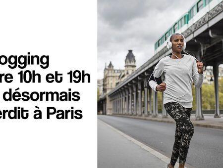 Le jogging interdit en journée