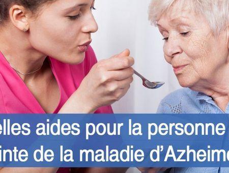 Maladie d'Alzheimer : quelles aides pour la personne malade ?