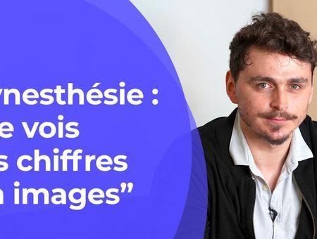 """Synesthésie : """"Je vois les chiffres en images"""""""