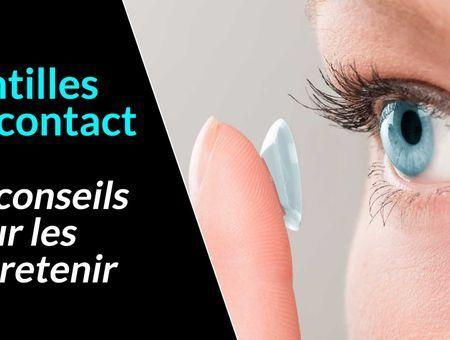 10 conseils d'hygiène pour les porteurs de lentilles