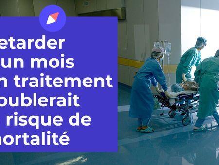 Retarder d'un mois un traitement doublerait le risque de mortalité