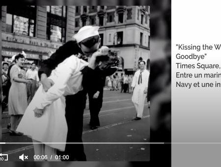 Les baisers les plus célèbres de l'histoire