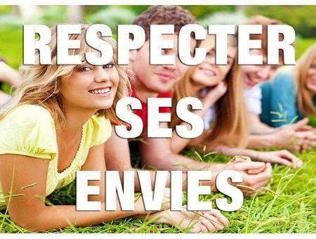 Respecter ses envies 1 (Anne de Kervasdoué)