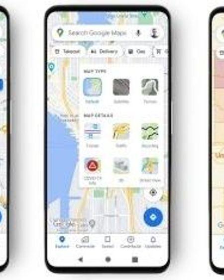Covid-19 : la progression de l'épidémie s'affiche sur Google Maps