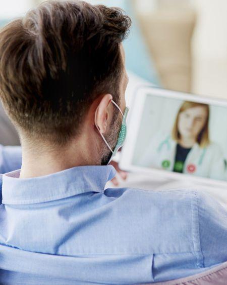 Nouvelle baisse d'un tiers des téléconsultations en juin