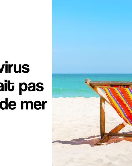 Coronavirus : le virus ne survivrait pas dans l'eau de mer