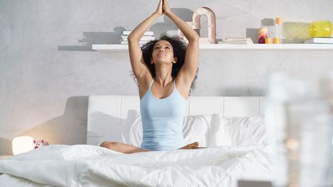 Yoga au réveil