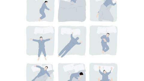 Votre position pour dormir révèle votre personnalité