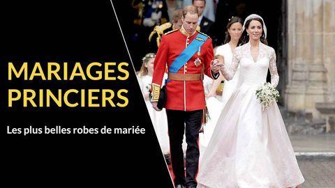 robes de mariée mariages royaux
