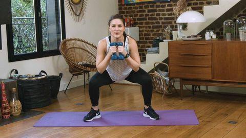 exercice halteres