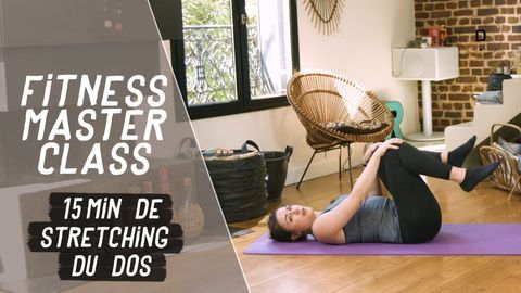 stretching pour le dos