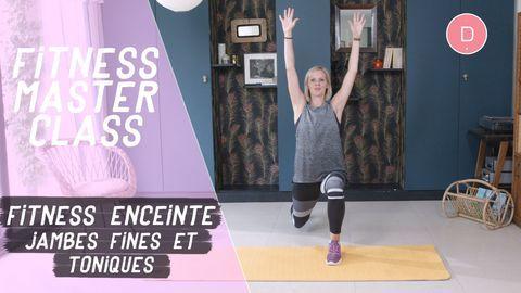 exercice jambes fines