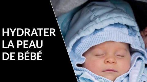 hydrater peau bebe