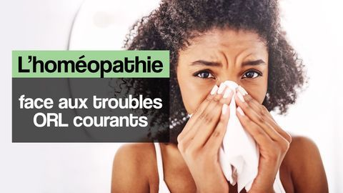 troubles ORL homéopathie