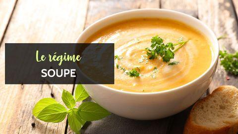 soupe régime