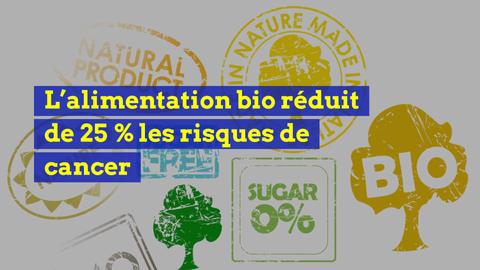 L'alimentation bio réduit de 25 % les risques de cancer