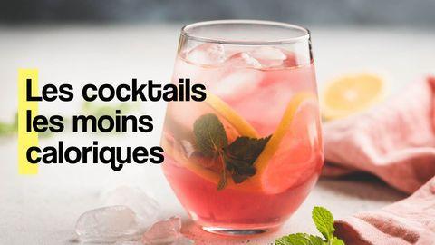 cocktails moins caloriques