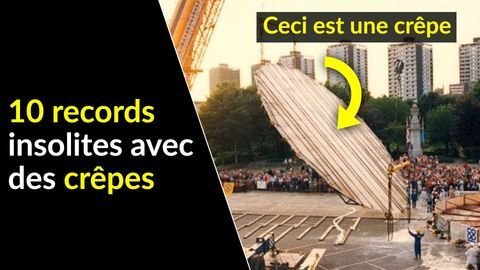 records insolites crepe