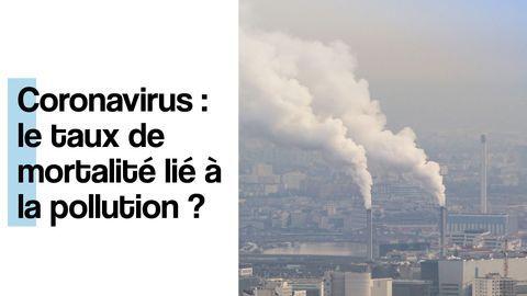 pollution et coronavirus