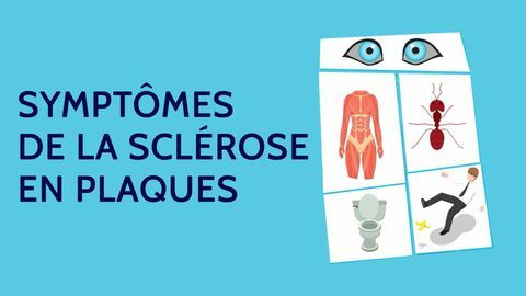 symptomes sclérose en plaques