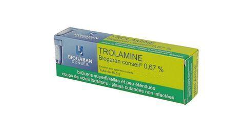 TROLAMINE BIOGARAN CONSEIL