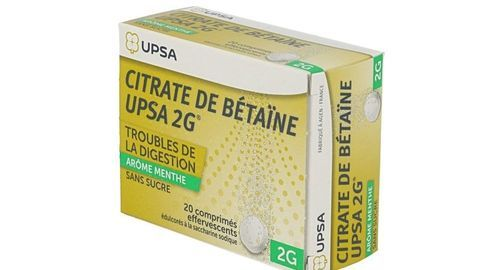 CITRATE BETAINE UPSA MENTH s/s