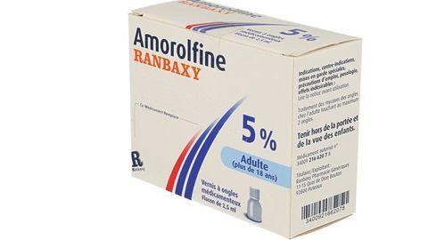AMOROLFINE RANBAXY