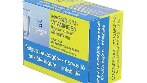 MAGNESIUM/VITAMINE B6 BGR CONS
