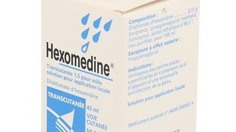 HEXOMEDINE TRANSCUTANEE - Hexamidine - Posologie, Effets ...