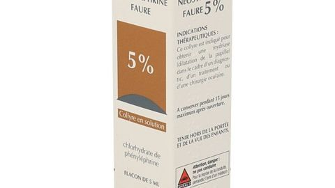 NEOSYNEPHRINE FAURE