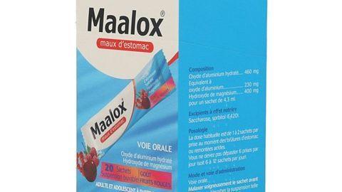 MAALOX MAUX D'ESTOMAC FRUITS R