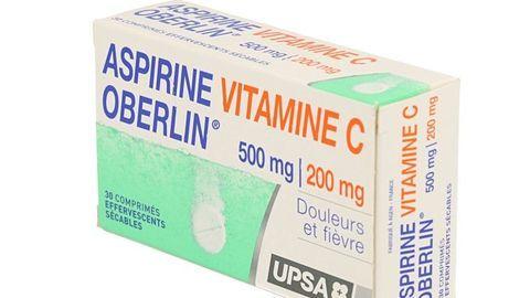 ASPIRINE VITAMINE C OBERLIN