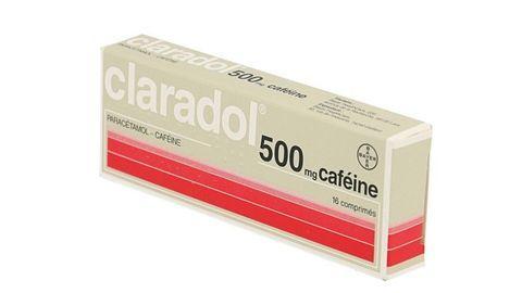 CLARADOL 500 mg CAFEINE