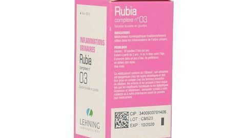 RUBIA COMPLEXE N°3 LEHNING