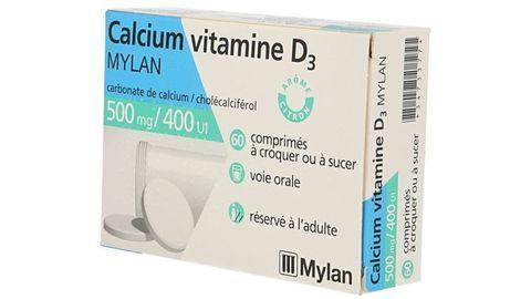 CALCIUM VITAMINE D3 MYLAN