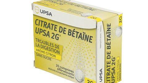 CITRATE BETAINE UPSA CITRO s/s