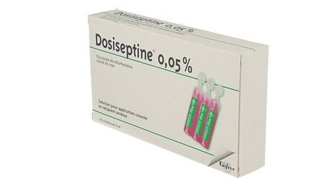 DOSISEPTINE - Gluconate de chlorhexidine - Posologie ...