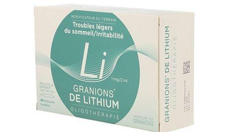 GRANIONS DE LITHIUM