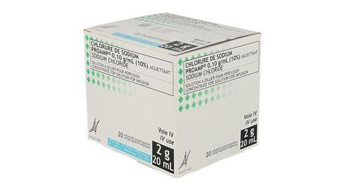 CHLORURE SODIUM PROA 0,10 g/ml