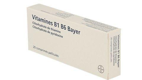 VITAMINE B1 B6 BAYER