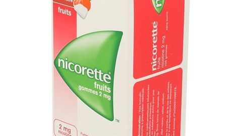NICORETTE FRUITS s/s