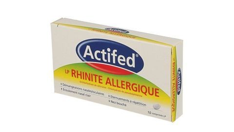 ACTIFED LP RHINITE ALLERGIQUE