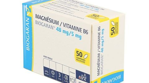 MAGNESIUM/VITAMINE B6 BIOGARAN