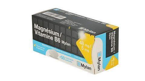 MAGNESIUM/VITAMINE B6 MYLAN
