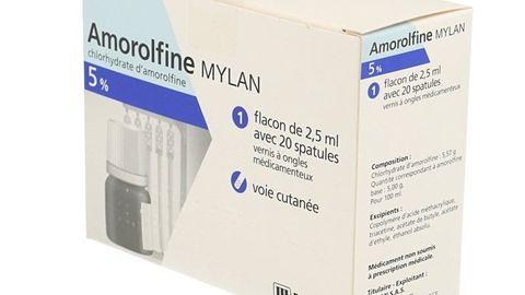 AMOROLFINE MYLAN