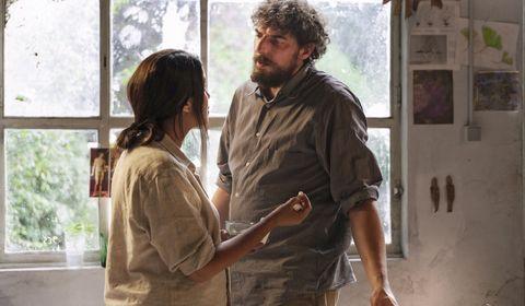 Leïla Bekhti et Damien Bonnard dans le film Les Intranquilles