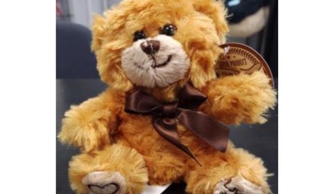 Rappel d'un ours en peluche vendu à la Foir'Fouille